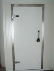 Kühlraumdrehtür in RAL 9002 0,90m x 2,10m