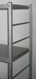 Regalständer Aluminium Breite 400mm x Höhe 1500mm
