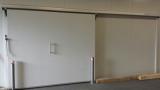 Kühlraumschiebetür in RAL 9002 1,00m x 2,00m